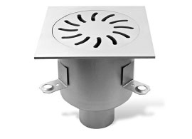 Floor drain catch basin channel drain inspection cover stainless steel drainage system